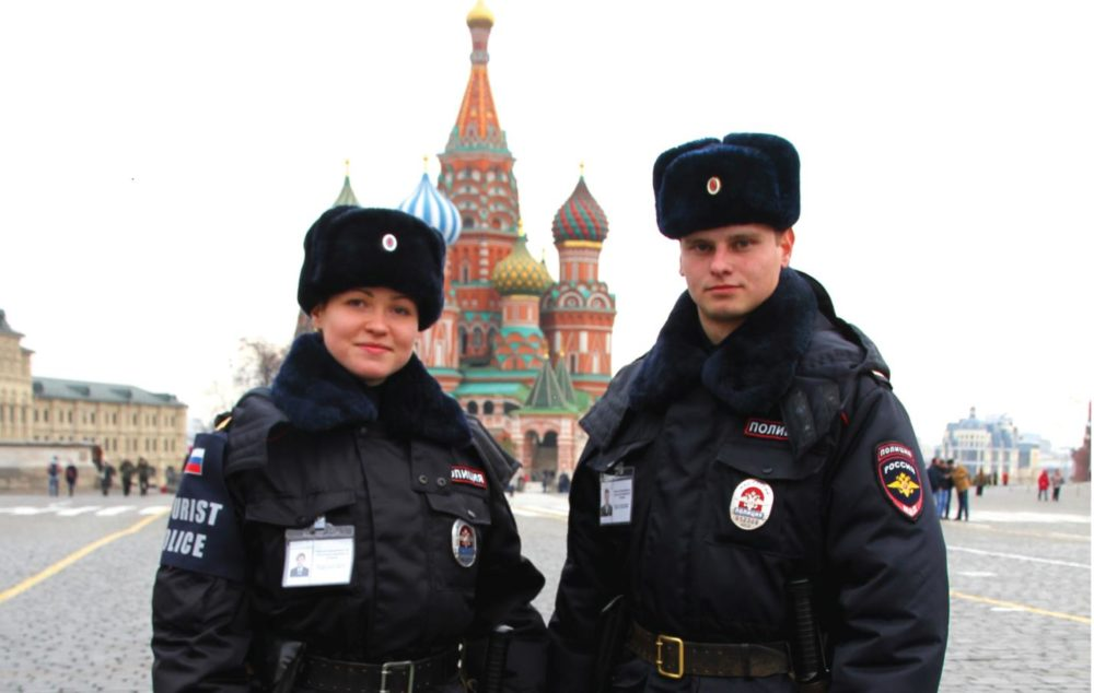 Зимняя полицейская форма