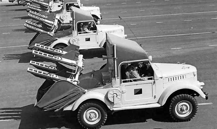 2П26 на базе ГАЗ-69