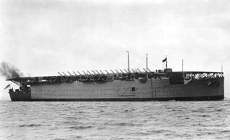 Авианосец HMS Argus