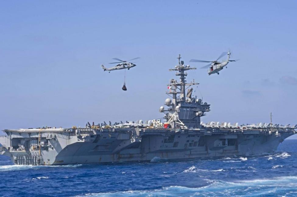 Авианосец США «Джордж Буш»