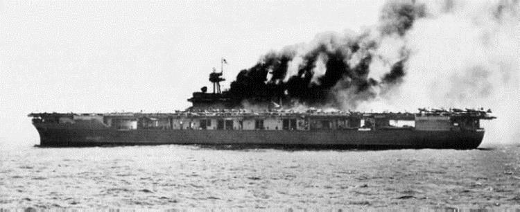 Авианосец США «Йорктаун»