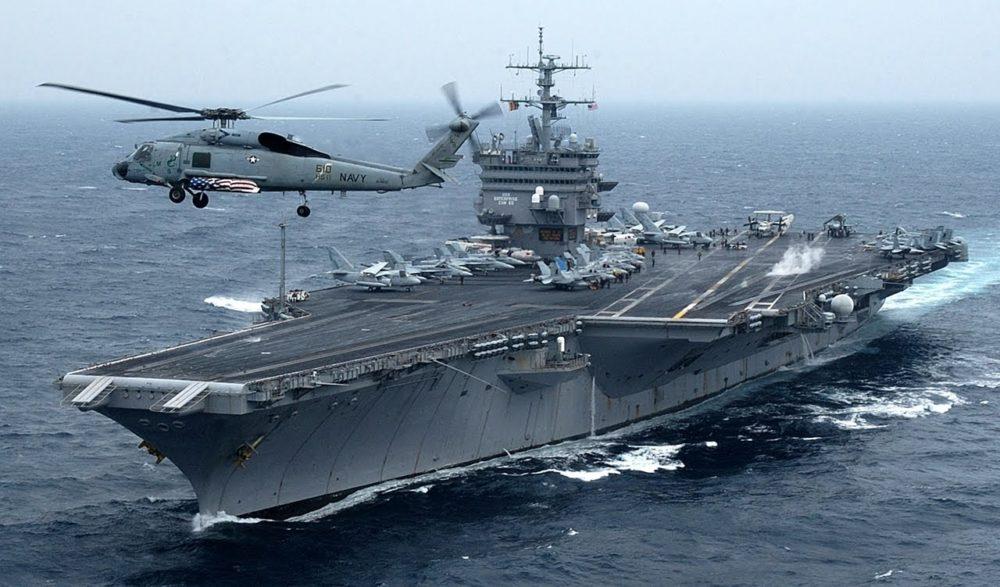 Авианосец США USS Enterprize