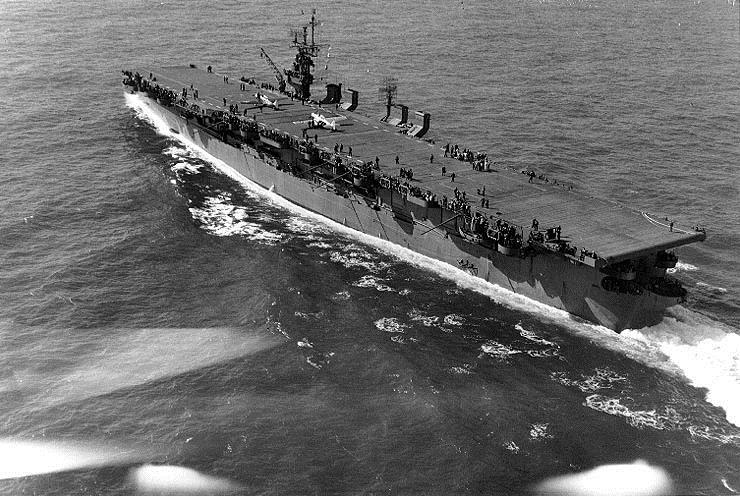 Авианосец USS Langley