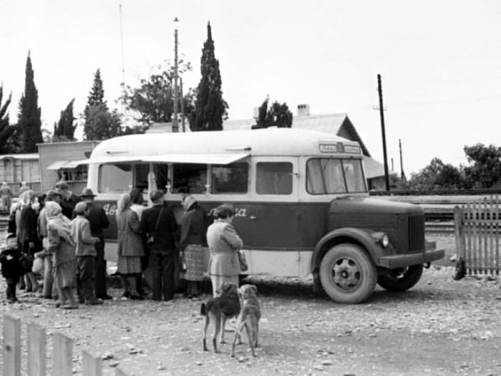 Автолавка ПАЗ-659