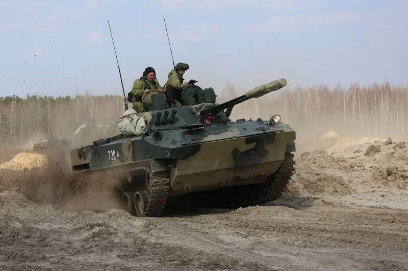БМД-4М на марше