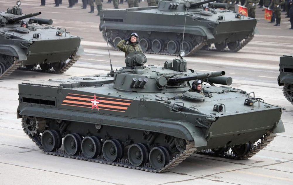 БМП-3 на Красной площади
