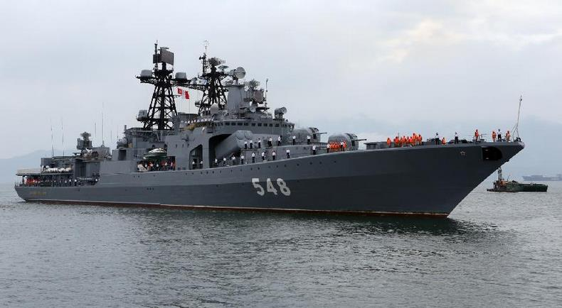 БПК проекта 1155 «Адмирал Пантелеев»