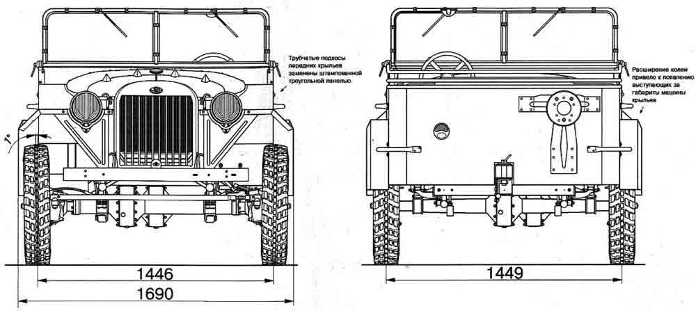 Чертежи ГАЗ-67