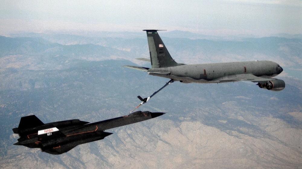 Дозаправка SR-71