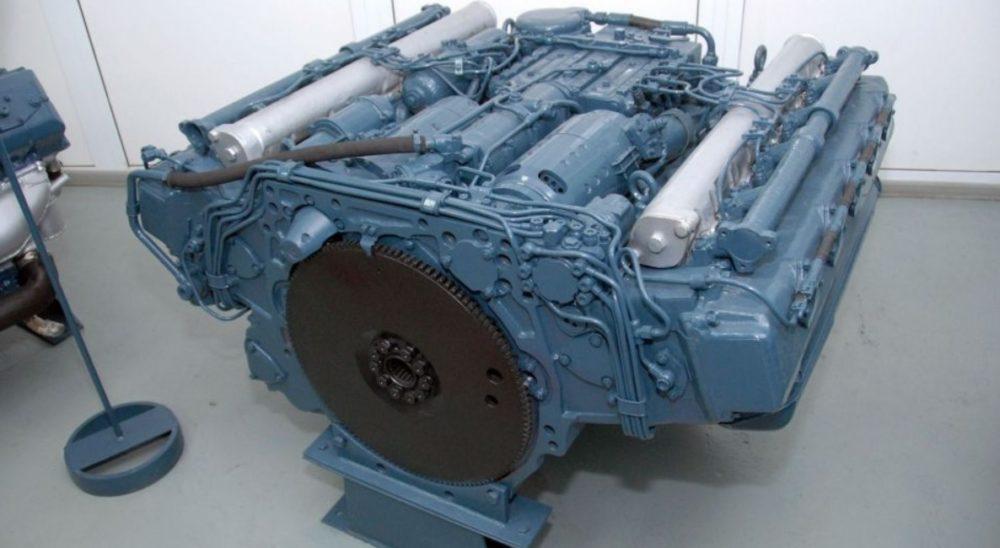 Двигатель БМД-4М