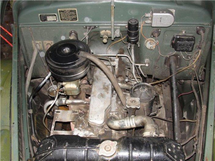 Двигатель ГАЗ-63
