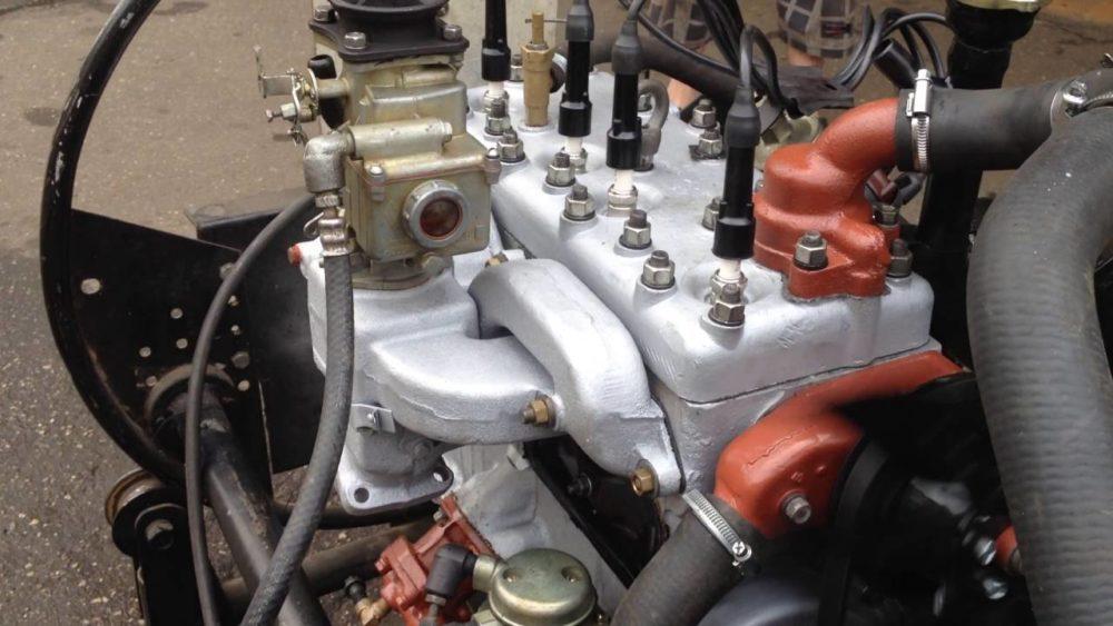 Двигатель ГАЗ-69
