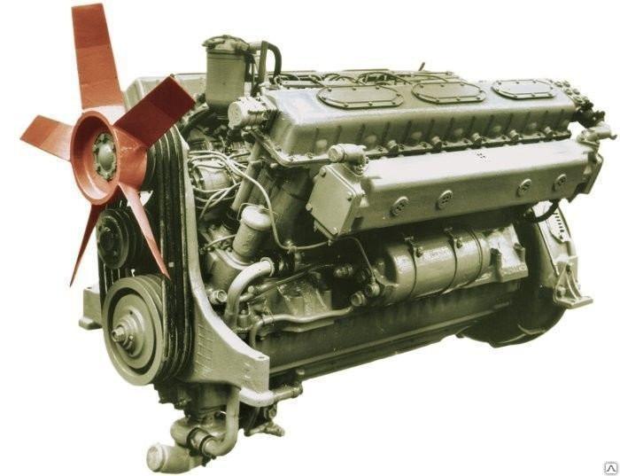 Двигатель МАЗ-537