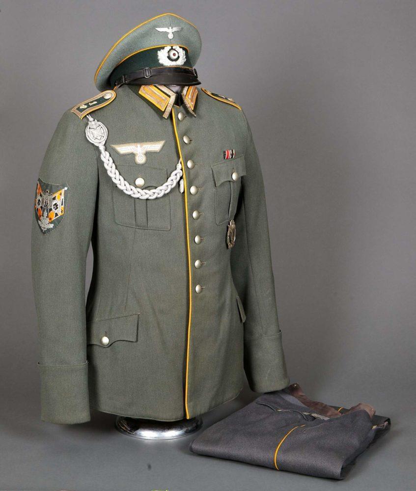 Форма офицеров Вермахта