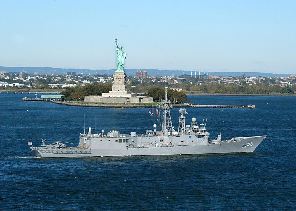 Фрегат USS Simpson