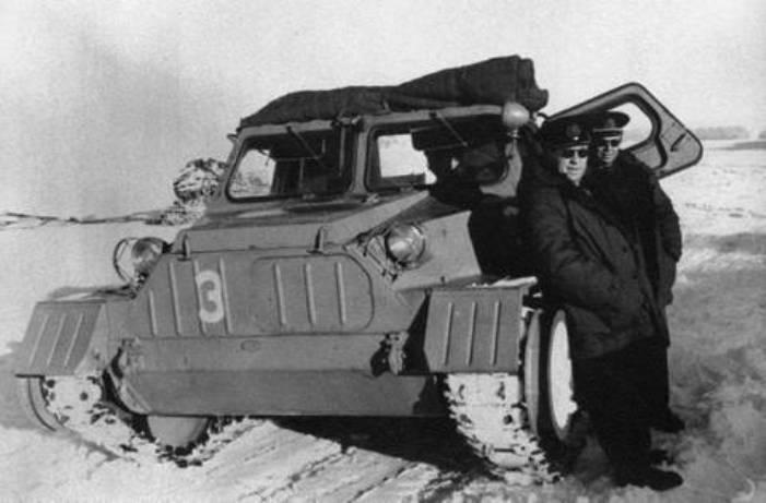 ГАЗ-47 в Антарктиде