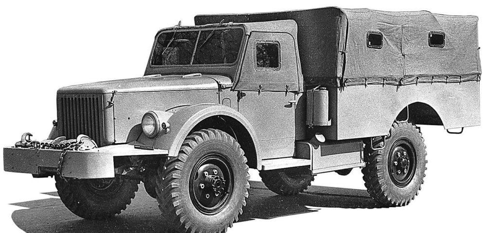 ГАЗ-62 с капотом