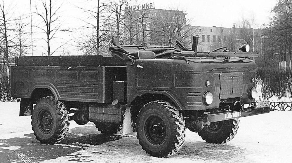 ГАЗ-62 со снятым верхом