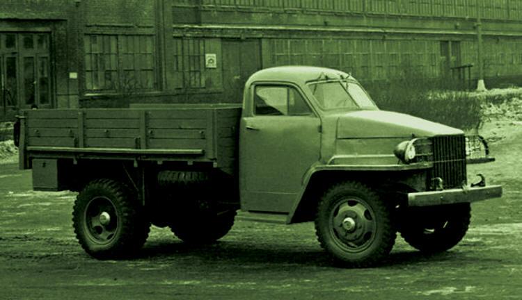 ГАЗ-63 с кабиной от «Студебеккера»