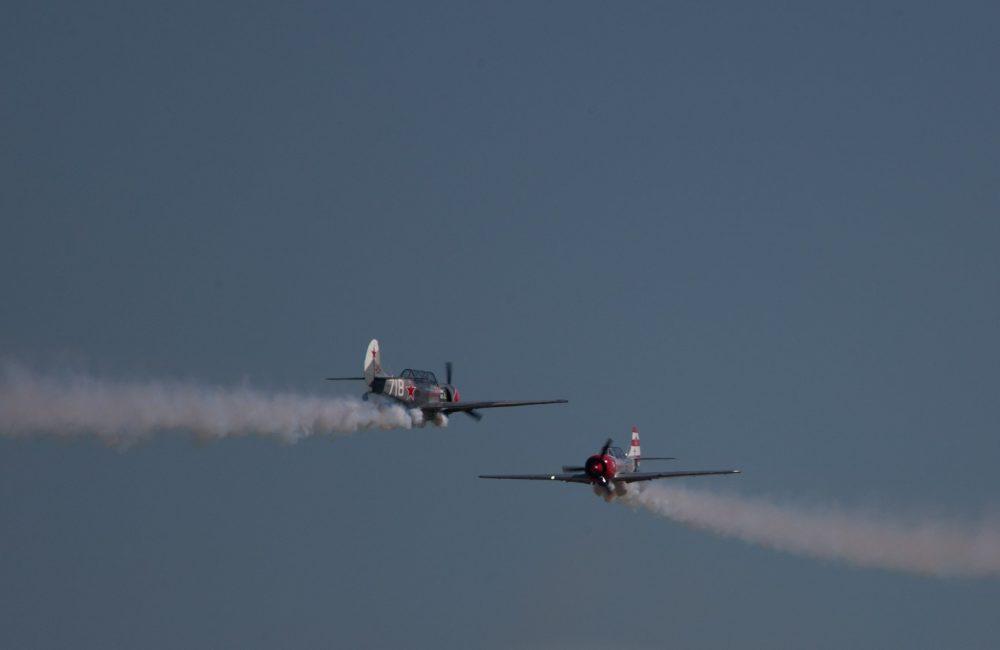 Групповой пилотаж на Як-52