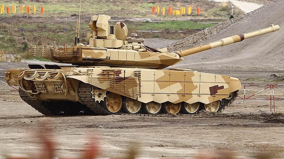 Испытания Т-90МС