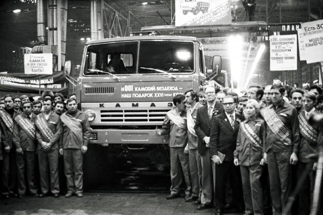 КамАЗ-4310, «подаренный» стране