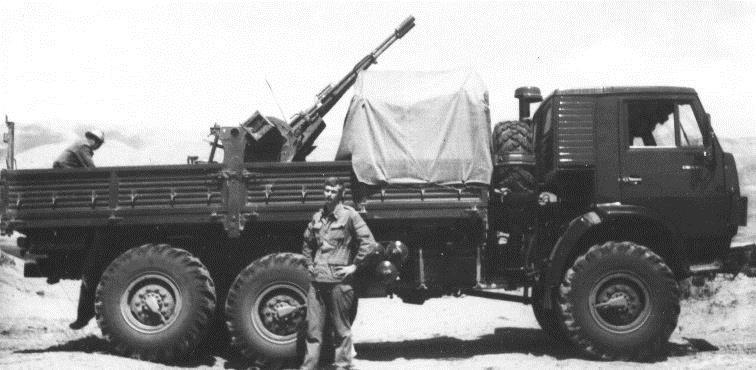 КамАЗ-4310 с ЗУ-23-2