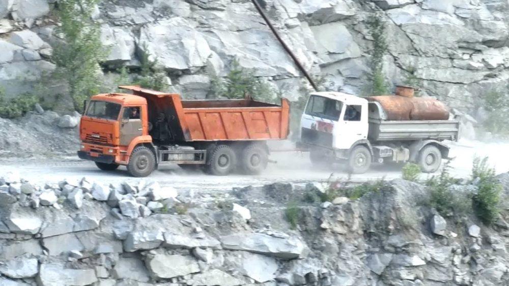 КамАЗ-55111 и МАЗ-555102