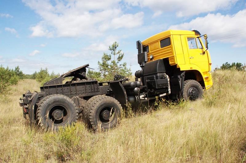 КамАЗ-65225 на бездорожье