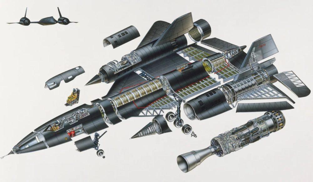 Конструкция SR-71