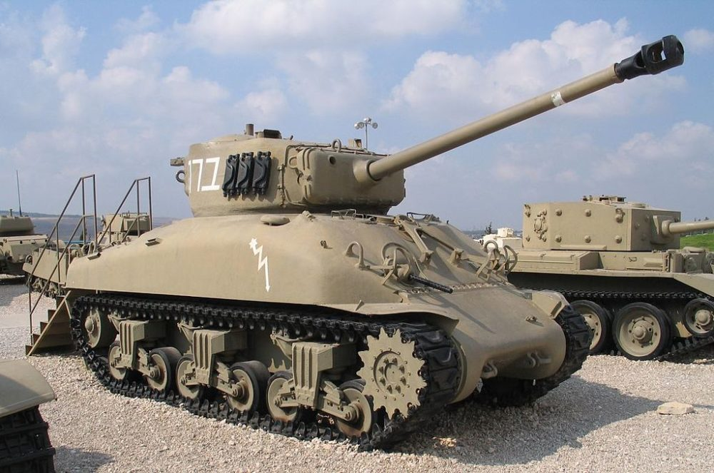 M4 «Шерман» с орудием М1А2