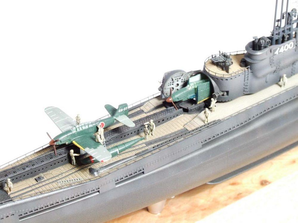 Макет подводного авианосца