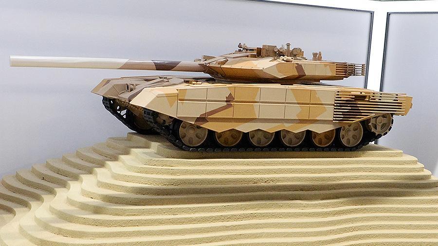 Макет Т-90МС