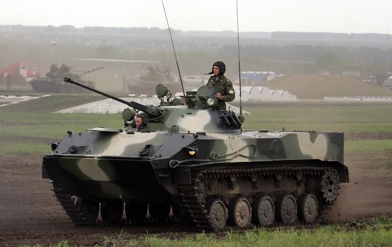 Машина БМД-3