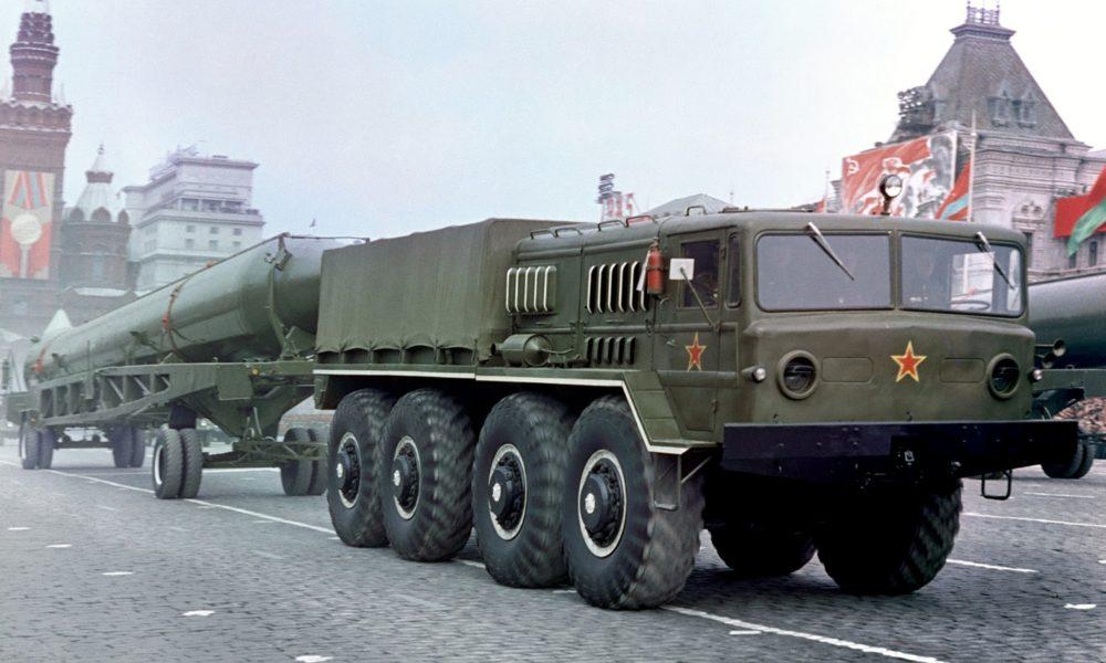 МАЗ-535 на Красной площади