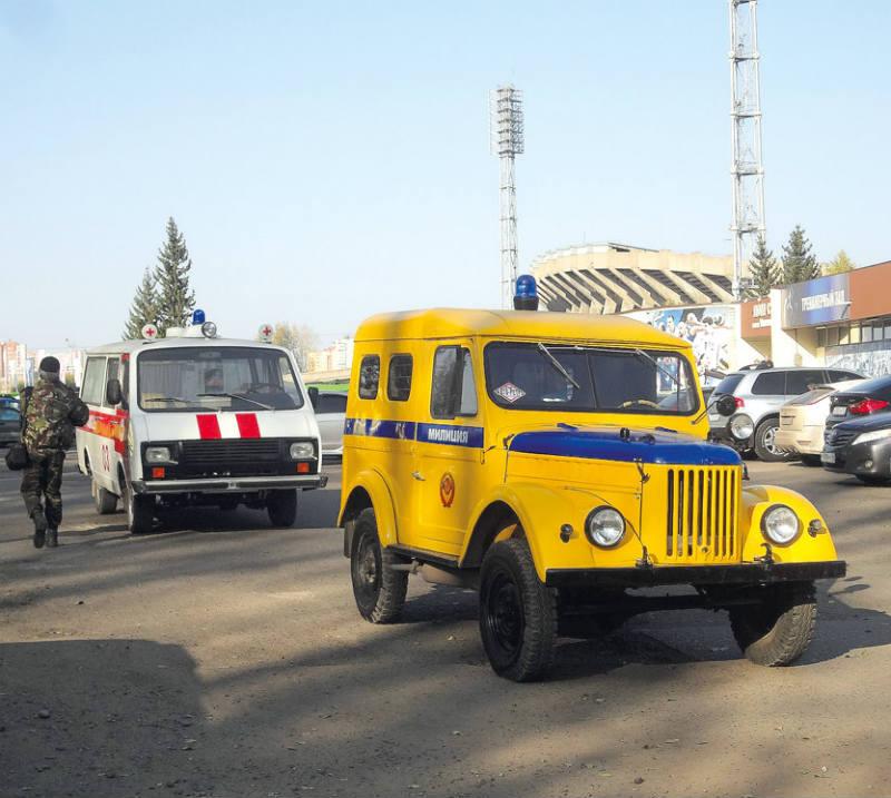 Милицейский ГАЗ-69П