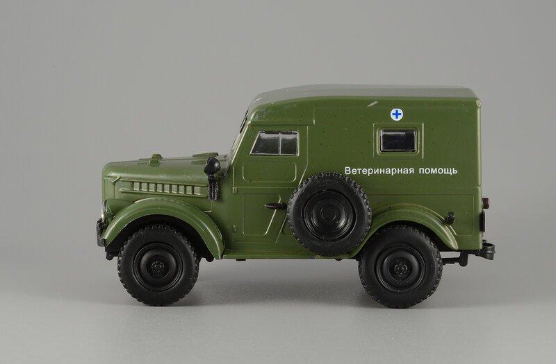 Модель автомобиля на базе ГАЗ-69