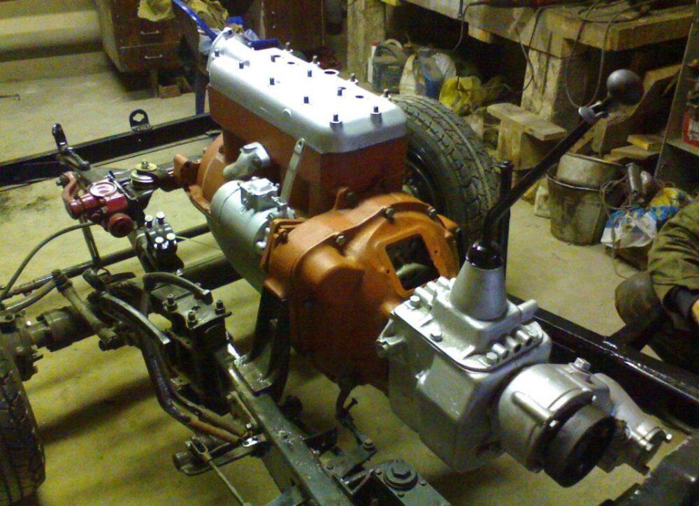 Мотор ГАЗ-64-6004
