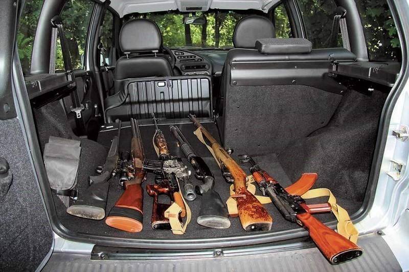Оружие в автомобиле