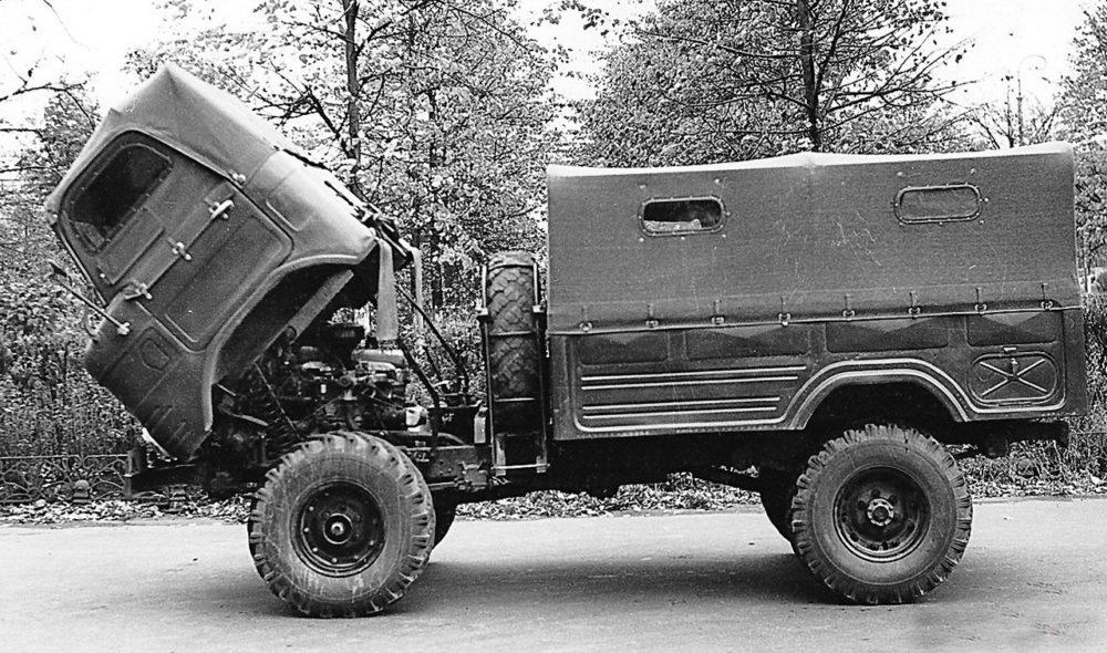 Откидная кабина ГАЗ-62