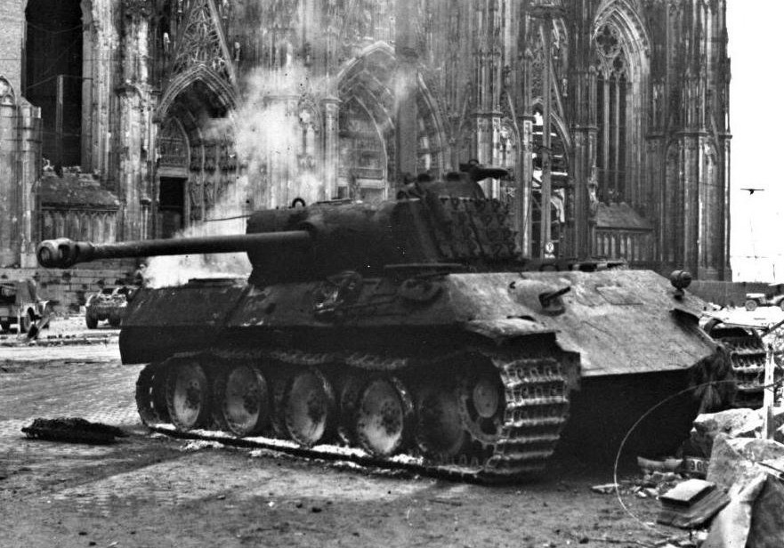Подбитый танк Pz.V «Пантера»