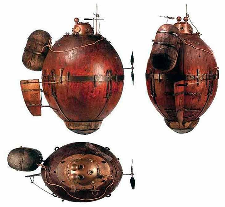 Подводная лодка Бушнелла