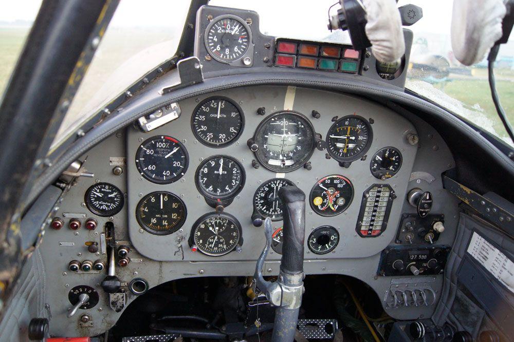 Приборная панель Як-52