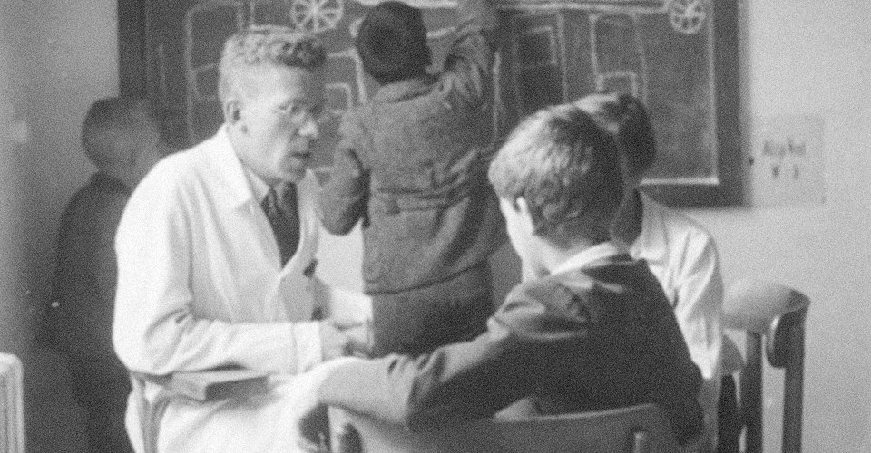 Психиатр и дети