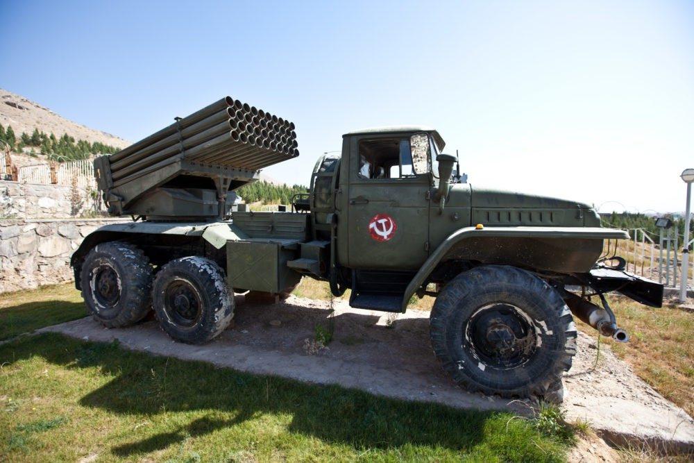 Пусковые установки на базе Урал-375