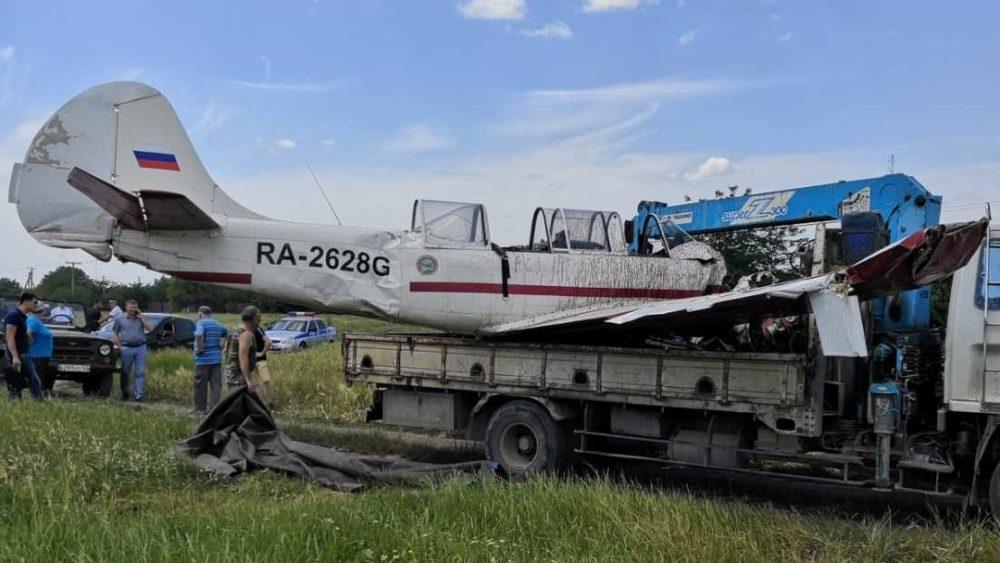 Разбившийся Як-52