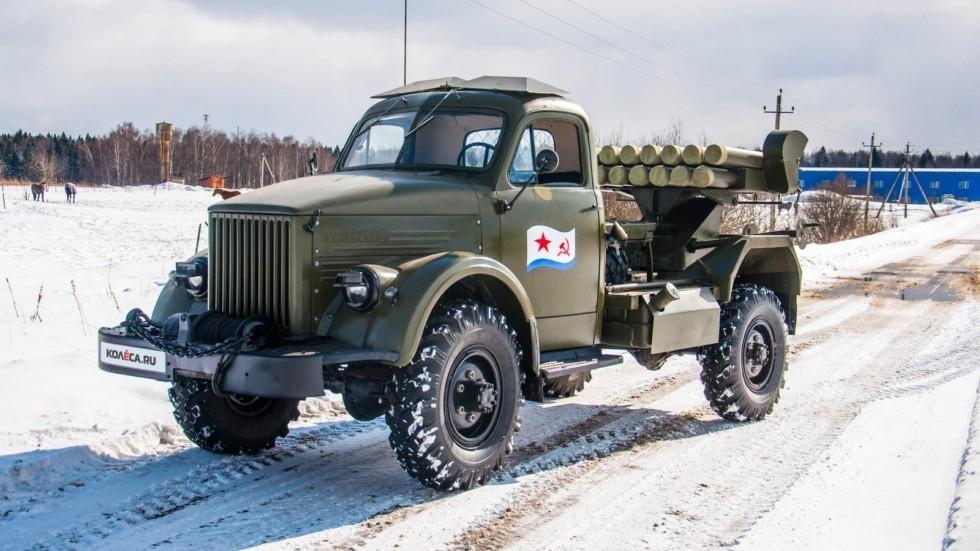 РСЗО на базе ГАЗ-63
