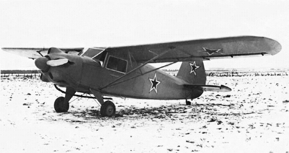 Самолет Як-10
