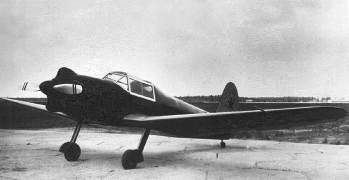 Самолет Як-13
