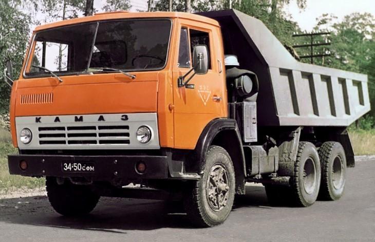 Самосвал КамАЗ-5511